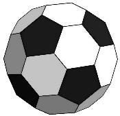 0c45fa9975ed5 Hay otro poliedro que permitiría conseguir balones más esféricos. Se trata  del Rombicosidodecaedro